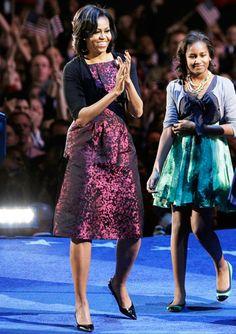 Happy Birthday, Michelle Obama! With lovely Malia