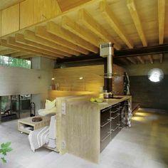 Wingårdh Arkitektkontor AB, The Mill House, The Kitchen