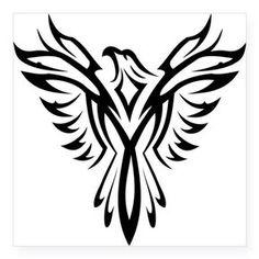 """Képtalálat a következőre: """"phoenix tattoo tribal"""" Tribal Eagle Tattoo, Tribal Phoenix Tattoo, Phoenix Tattoo Design, Eagle Tattoos, Tribal Tattoo Designs, Tribal Art, Tribal Logo, Small Eagle Tattoo, Simple Phoenix Tattoo"""