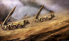 SCUD missile launcher by ~cloudminedesign on deviantART