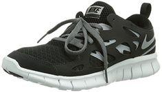 Revolution 3 (GS), Chaussures de Running Garçon, Gris (Dark Grey/White-Black-Pure Gris Platinum), 35.5 EUNike