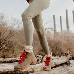 The Weekend Boot Walking Boots, Thick Socks, Vegan Shoes, Red Lace, Timberland Boots, Winter Boots, Sustainable Fashion, Fashion Boots, Snug Fit