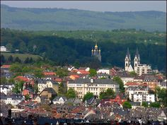 Weisbaden, Germany: this is the type of view I remember as we lived in the hills overlooking the city.