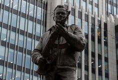 Mikhail Kalashnikov monument- 2017  REUTERS/SERGEI KARPUKHIN