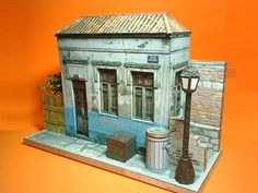 Brazilian Abandoned House Paper Model - by Papermau