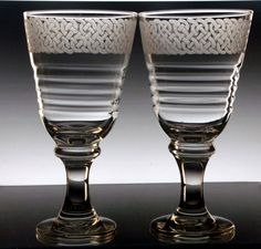Celtic Knot Wine Glasses  Set of Two large by GlassGoddessNgraving