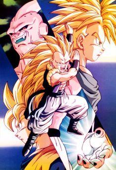 Dragon Ball Z, Akira, Buu Dbz, Kid Buu, Goten Y Trunks, Dbz Wallpapers, Majin Boo, Manga Dragon, Fan Art