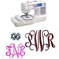 How To Use The Brother SE-400 Sewing Machine For Embroidery/ Monogramming