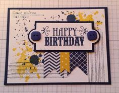 Say It Simply by Carol: Gorgeous Grunge Birthday