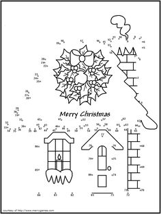free printable christmas connect the dots merry games christmas activities christmas games