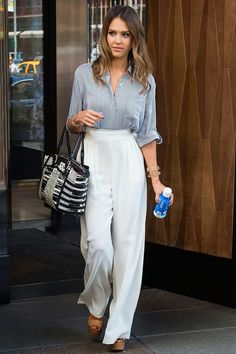 TREND ALERT: HOW TO ROCK WHIDE-LEGGED PANTS | Our Favorite Style