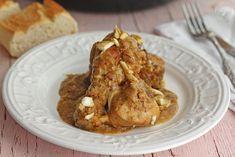 Cocinando entre Olivos: Cómo hacer Pollo en pepitoria. Receta paso a paso Spanish Food, Cauliflower, Chicken Recipes, Meat, Vegetables, Cooking, Salsa, Polo, Gastronomia