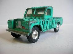 Vintage Toy Car Corgi Safari Land Rover by hebrideanbeachcomber, £8.00
