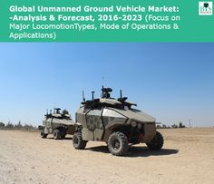 The demand for unmanned ground vehicles is gradually increasing across both in the developed and developing economies.