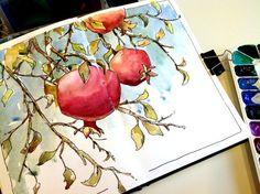 Art Journal / Sketchbook inspiration. Original pinner sez: Brenda Swenson: Sketchbook Snob