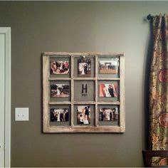 great alternative to a large frame with matting