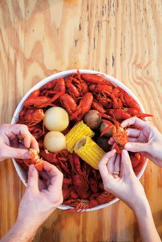 Mud Bugs...in a Boiling Pot YES!! from Our Best Photos of 2011 | Garden and Gun