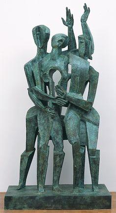 Ossip Zadkine | Ossip Zadkine, Le retour du fils prodigue - 1964 - Zadkine Research ...