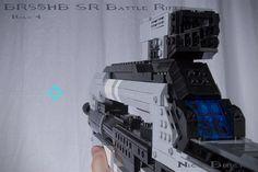 LEGO Halo 4 Battle Rifle Replica by Nick Jensen (2)