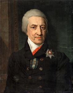 Portrait of Koshelev  Vladimir Borovikovsky