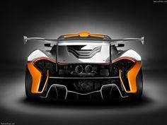 2014 McLaren P1 GTR Concept | Car Pictures