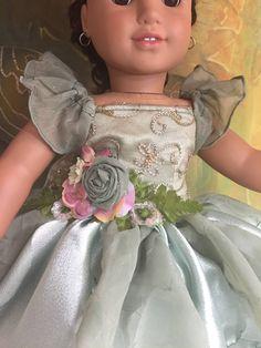American Girl Custom OOAK Green Woodland Fairy Set