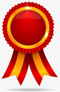 Trophy badge PNG and Vector Page Borders Design, Border Design, Certificate Design, Certificate Templates, Ribbon Png, Red Ribbon, Certificate Background, Birthday Logo, Poster Background Design