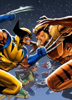 X-Men vs. Rogues