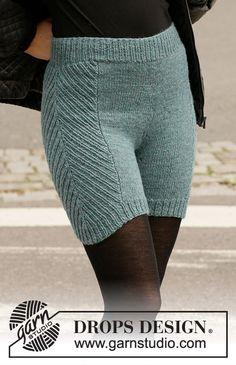 Herring Bone Thermals pattern by DROPS design Knitting Stitches, Knitting Patterns Free, Free Knitting, Baby Knitting, Crochet Patterns, Drops Design, Crochet Amigurumi, Knit Crochet, Skirt Pattern Free