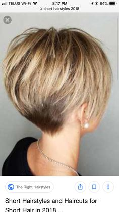 The post & Kurzhaarschnitte appeared first on Short hair styles . Short Sassy Haircuts, Pixie Haircut For Thick Hair, Short Hairstyles For Thick Hair, Short Hair With Layers, Long Wavy Hair, Short Hair Cuts For Women, Easy Hairstyles, Curly Hair Styles, Back Of Short Hair