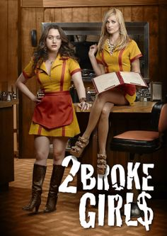 2 BROKE GIRLS Two young women waitressing at a greasy spoon diner strike up an unlikely friendship in the hopes of launching a successful business - if only they can raise the cash.