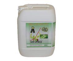 Iedereen kent het effect van een verfrissende regenbui op een dorstige plant. Zo kunt u het effect van HY-PRO Spraymix ook zien. Het is een middel dat bladeren voorziet van bladvoeding, zodat ze optimaal ademen.  Voordelen: Bijkomend voordeel van HY-PRO Spraymix is, dat het de plant helpt om weerstand op te bouwen tegen eventuele negatieve invloeden van buitenaf,zoals te felle zon. Bovendien stimuleert het product de plant om nieuwe bladeren aan te maken.
