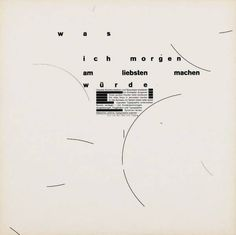 Weingart - Typographic text interpretations - 1969