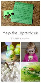 Fun at Home with Kids: Help the Leprechaun Find His Gold: Five Days of Activities!