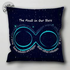 the fault in our stars sparknotes pillow case, cushion cover ( 1 or 2 Side Print With Size 16, 18, 20, 26, 30, 36 inch )