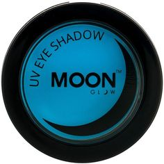 Moon Glow 3.5g Neon UV Eye Shadow Blue ($5.95) ❤ liked on Polyvore featuring beauty products, makeup, eye makeup and eyeshadow