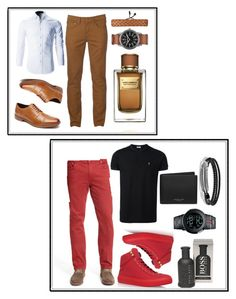 """""""This is my uncle style 👨👨"""" by altunaizeiri ❤ liked on Polyvore featuring Bugatchi, Urban Pipeline, Rockport, Dolce&Gabbana, Arizona, Jimmy Choo, Gucci, Yves Saint Laurent, HUGO and David Yurman"""