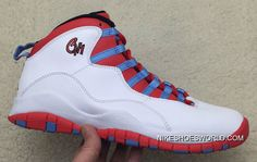 """detailed look 14ec9 a9edf Air Jordan 10 """"Chicago Flag"""""""