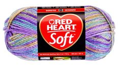 Watercolors Soft Yarn Yarn | Red Heart