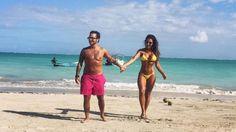 Voltaram? Thammy Miranda e Andressa Ferreira curtem praia de mãos dadas - 04/01/2017 - UOL TV e Famosos