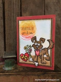 Hello friends! Are you still CRAZY over the Tim Holtz Crazy stamps? They just make me happy every time I see them. It's hard not to have a ...
