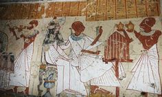 Ancient Egyptian Beer Brewer's Tomb Unearthed In Luxor Ancient Egyptian Deities, Ancient Egypt Art, Egyptian Art, Ancient Artifacts, Ancient History, Religious Rituals, Archaeology News, Luxor Egypt, Women In History