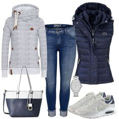 seaInside outfit - autumn outfits at FrauenOutfits.de - seaInside outfit – fall outfits at FrauenOutfits.de You are in the right place about outfits hombr - Outfits Fo, Sporty Outfits, Classy Outfits, Fashion Outfits, Chic Outfits, Fashionable Outfits, Fashion Hacks, Fashion Tips, Womens Fashion