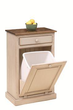 Hide Away Trash Can Brilliant Abide Pinterest Kitchens - Hide away trash bin kitchen