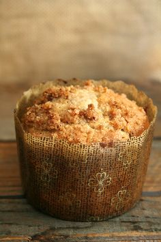 Coffeecake Muffins - can make batter the night before and bake the next morning