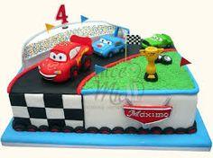 torta de cars - Buscar con Google