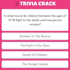 Trivia question about the native amaricans Suzanne Collins, Chris Martin, Veronica Roth, Robert Kiyosaki, Anger Management Charlie Sheen, Lilo En Stitch, Trivia Crack, Warrior Cats Series, Pikachu