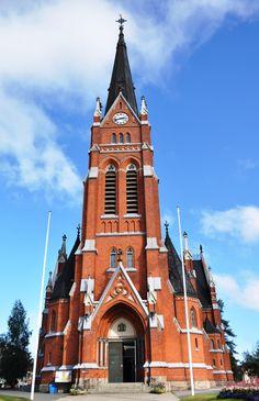 Lulea Sweden - Church of Lulea
