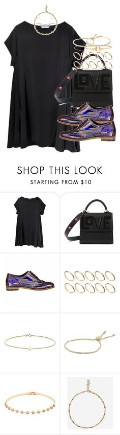 """""""Read the description"""" by hellomissapple ❤ liked on Polyvore featuring Les Petits Joueurs, ASOS, Minor Obsessions, CO, Michael Kors and Jennifer Fisher"""