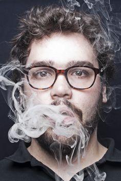 smoked self-portrait 1